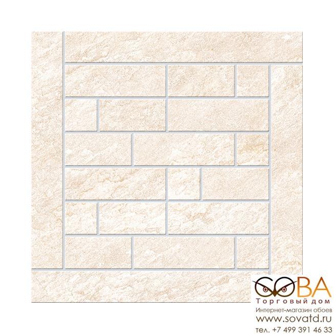 Декор Urban Quarzite Beige  Brick (K943934) 45x45 купить по лучшей цене в интернет магазине стильных обоев Сова ТД. Доставка по Москве, МО и всей России