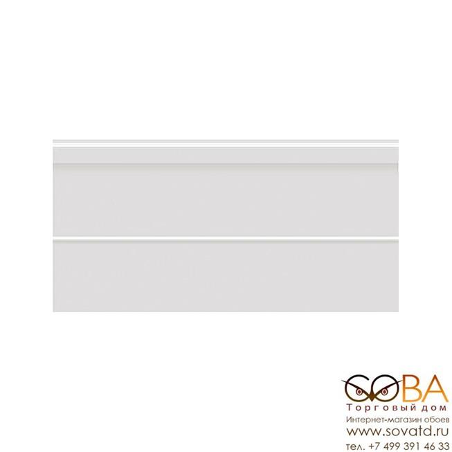 Плинтус Villeroy&Boch  Arpeggio White Plint Glossy Rec. 15x30 купить по лучшей цене в интернет магазине стильных обоев Сова ТД. Доставка по Москве, МО и всей России