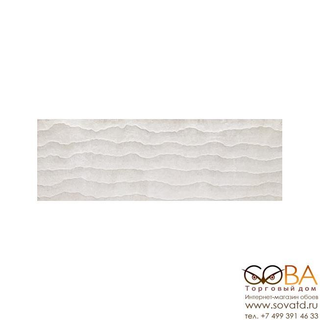 Керамическая плитка Venis Contour White (33.3x100)см V1440180 (Испания) купить по лучшей цене в интернет магазине стильных обоев Сова ТД. Доставка по Москве, МО и всей России