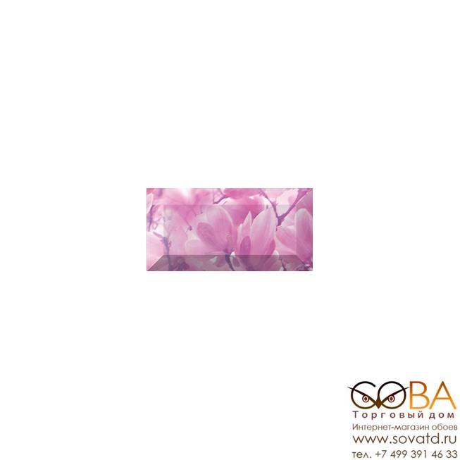 Бордюр Magnolia  рельефный br1020D297-2 20х10 купить по лучшей цене в интернет магазине стильных обоев Сова ТД. Доставка по Москве, МО и всей России