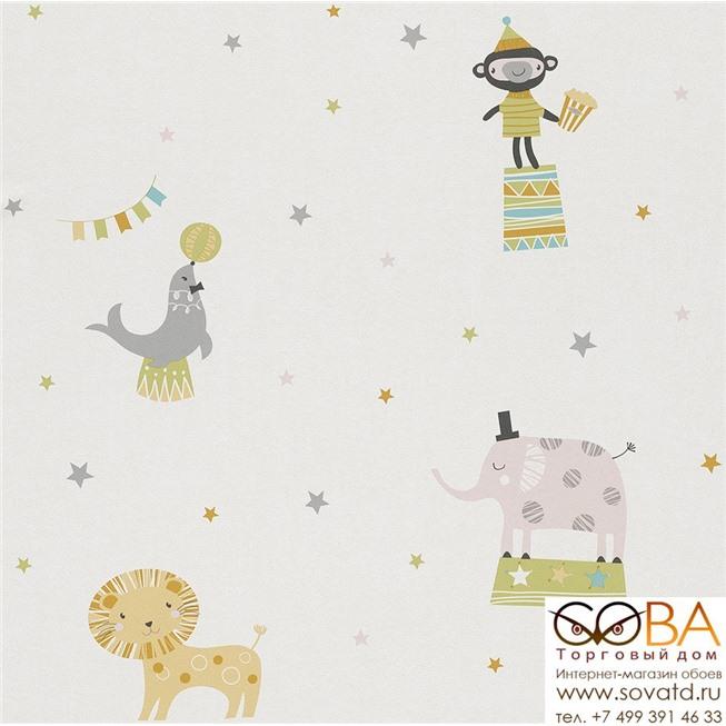 Обои Rasch 245011 купить по лучшей цене в интернет магазине стильных обоев Сова ТД. Доставка по Москве, МО и всей России