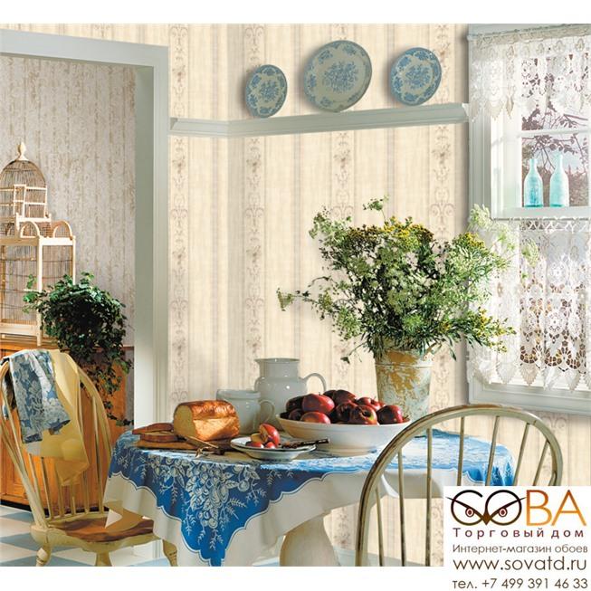 Обои Seabrook Gv30909 Genevieve купить по лучшей цене в интернет магазине стильных обоев Сова ТД. Доставка по Москве, МО и всей России