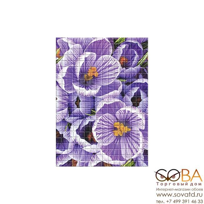 Декор Motive  Violet (MF2M221DT) 25х35 купить по лучшей цене в интернет магазине стильных обоев Сова ТД. Доставка по Москве, МО и всей России
