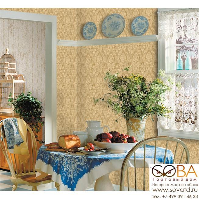 Обои Seabrook HE50609 Heritage купить по лучшей цене в интернет магазине стильных обоев Сова ТД. Доставка по Москве, МО и всей России