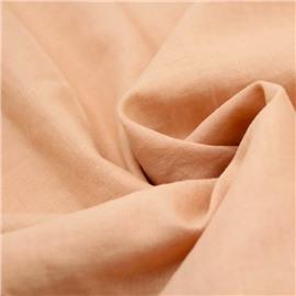 Конопляная ткань персикового цвета #33