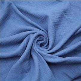 Муслин джинсового цвета