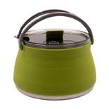 Чайник силиконовый складной Tramp 1л олива TRC-125