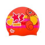 Шапочка для плавания AWT MULTI JR orange, силикон, 91925 21