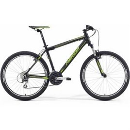 Велосипед Merida Matts 6.20V Matt Black/Green (2016) , интернет-магазин Sportcoast.ru