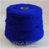 Пряжа Lilu из сури альпака, Синий яркий, 130м/50г, Lama Lima