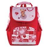 Ранец для девочек ортопедический Brauberg Style Мишка Хит 22 л 225317