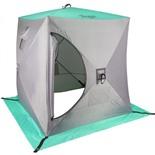Зимняя палатка Куб Premier 1,5х1,5 (зеленый)