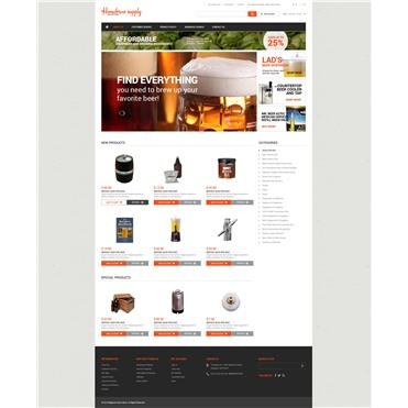Homebrew Supply Shop