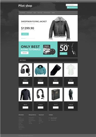 Online Pilot Store