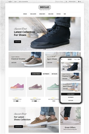 Shoeslace - Footwear Shop