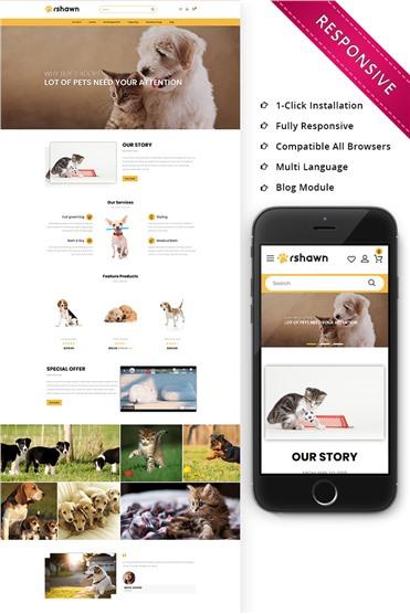 Rshawn - The Pet Shop Responsive