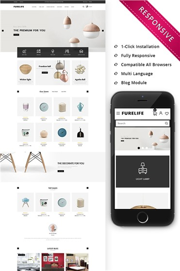 Furelife - The Furniture Shop Responsive