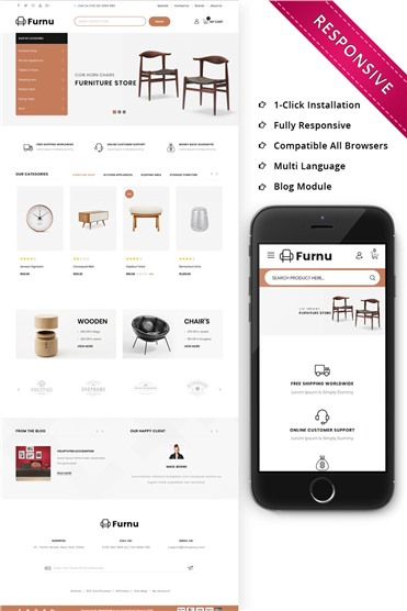 Furnu Furniture Responsive