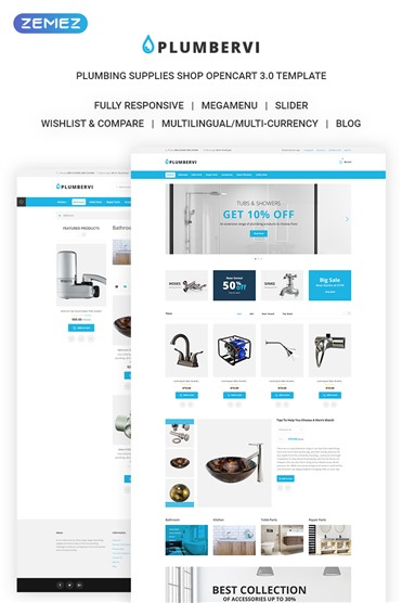 Plumbervi Store - Plumbing Supplies Shop