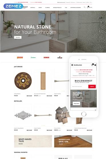 BuildMarket - Building Materials Clean