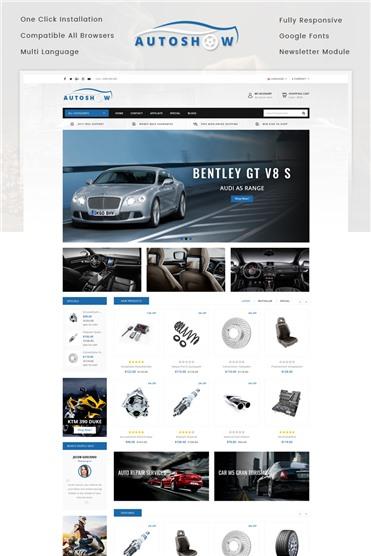 Auto Show - Auto Parts Store