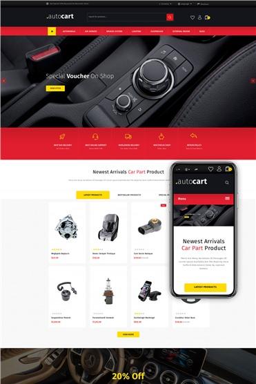 AutoCart - Spare Parts Store