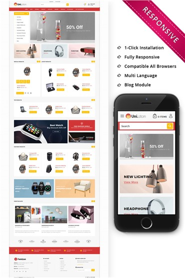 Unistone Mega Store - Responsive