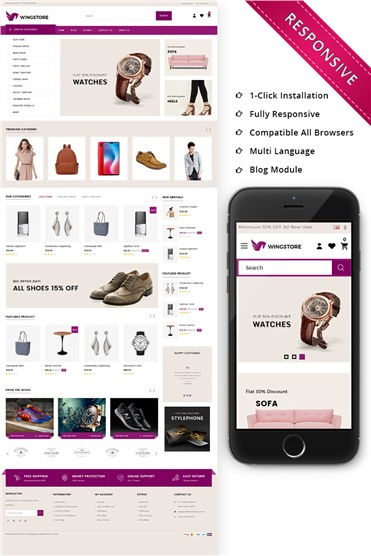 Wingstore - Mega Shop Responsive