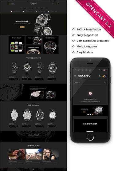 Smart Watch - Responsive