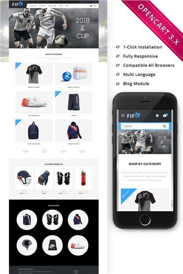 Fifo Sport Store - Responsive