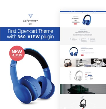 Audio Store with 360 view plugin