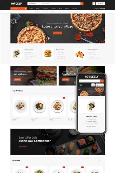 Foodezia - Restaurant Store
