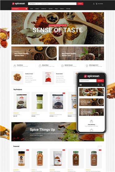 Spicesan - Supermarket Store