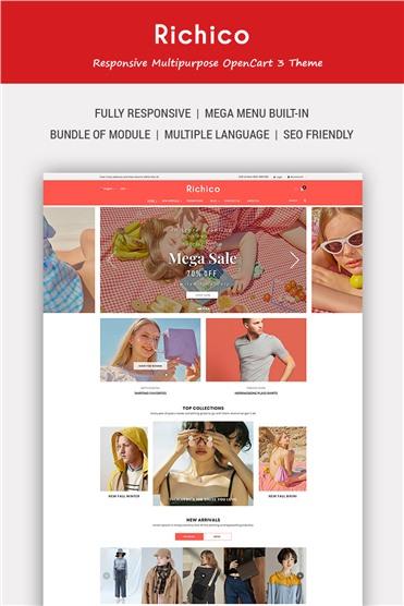 Richico - The Clean, Minimal & Multipurpose