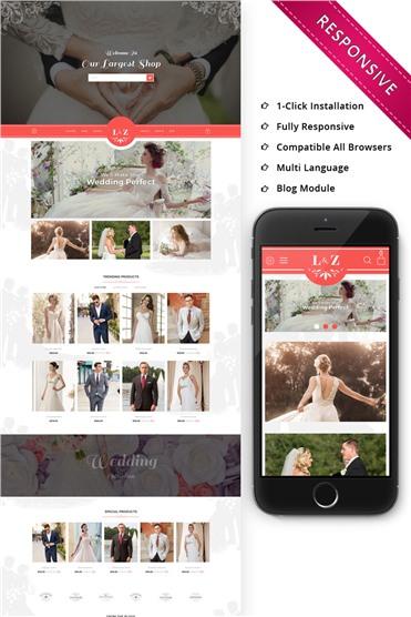 L&Z Wedding Store - Responsive
