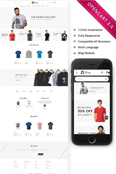 Fancy Fasion Store Responsive
