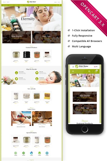 Wildwater Spa - Responsive