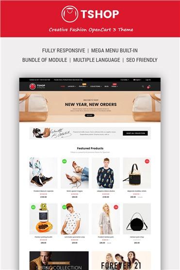 TShop - Fashion Shop
