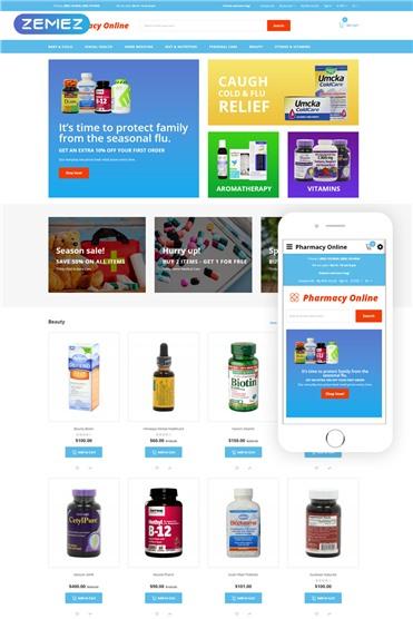 Pharmacy Online - Drug Store