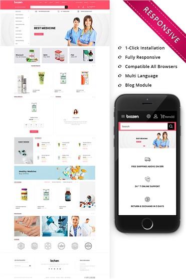 BioZen - The Medical Store Responsive