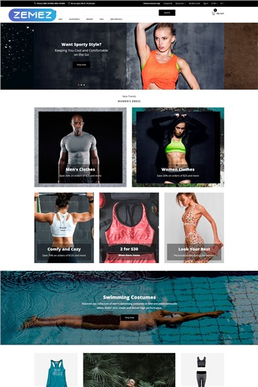 iRon Man - Sports Store eCommerce Modern