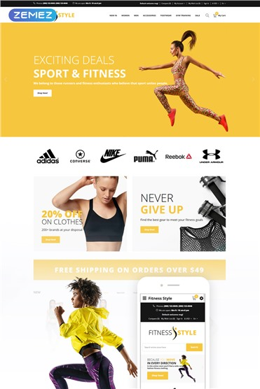Fitness Style - Sports Fashion