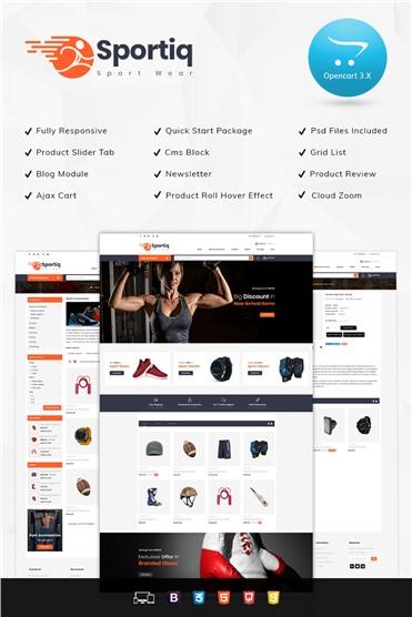 Sportiq - Sports Responsive 3.x