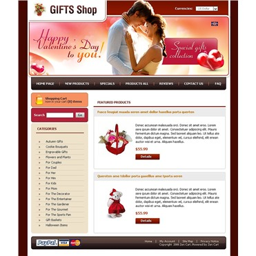 Gifts Store