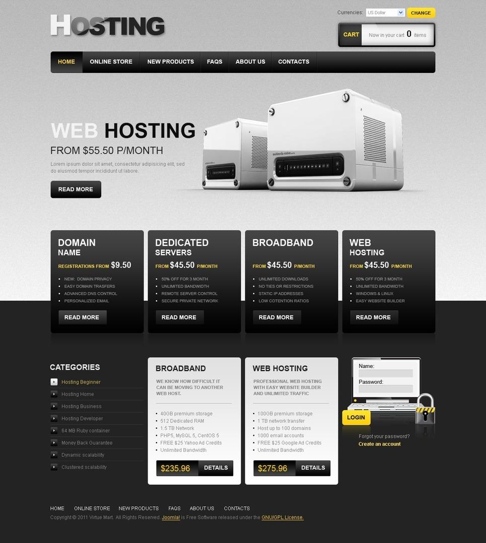 Бесплатный хостинг шаблоны для сайта перенос сайта с одного хостинга на другой joomla
