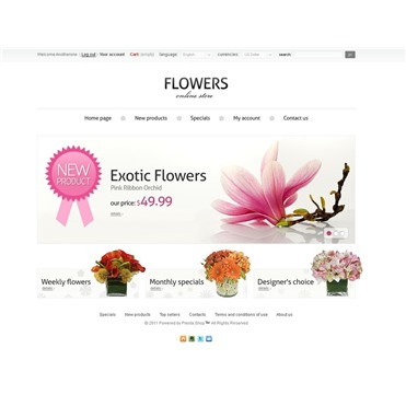 Online Flowers Store