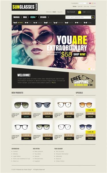 Sunglasses Choices
