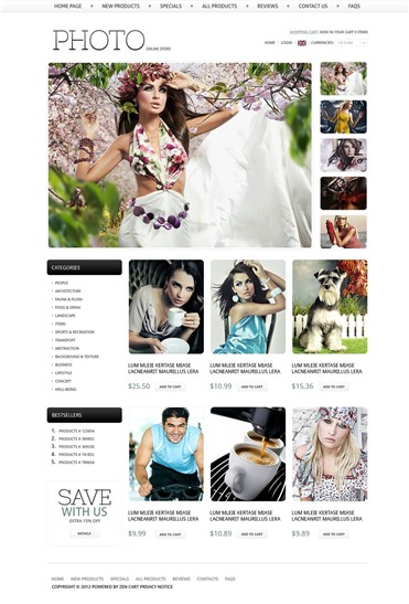 Online Photo Store
