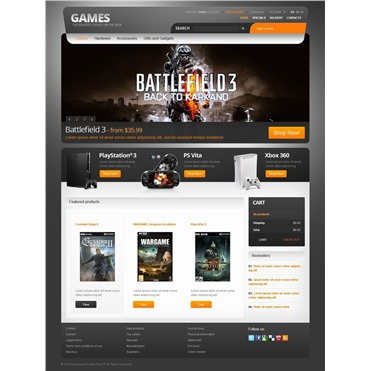 Games for PC and PS