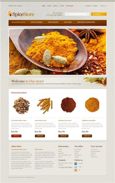 Spices from Overseas